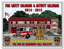 Coloring Books - Fire Safety Calendar