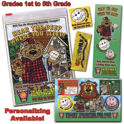 Classroom  Zip-Kits 1st - 5th Graders  2015 Fire Safety Theme