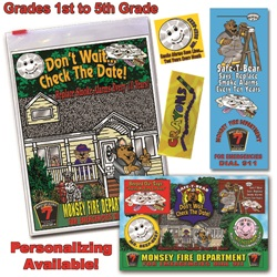 Classroom  Zip-Kits 1st - 5th Graders  2016 Fire Safety Theme