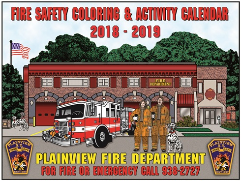 2018 - 2019 Calendar Coloring and Activity Book