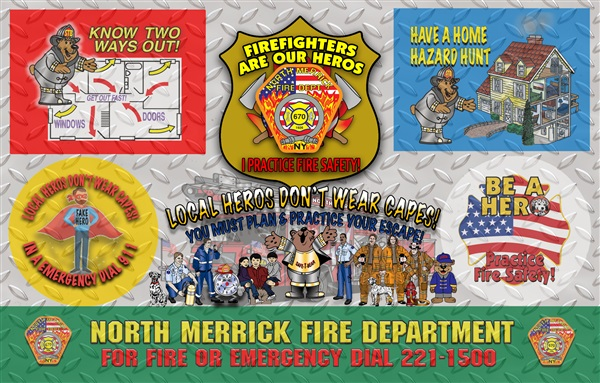 2019 Fire Safety Theme Items