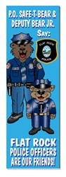 Bookmark - PO Safe-T-Bear & Deputy Bear Jr.