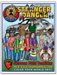 Stranger Danger Coloring Book