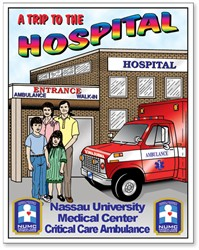 Trip To The Hospital Coloring Book