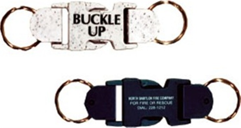 Buckle-Up Key Tag