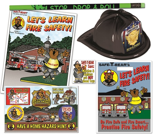 Open House Kit - Safe-T-Bear... Lets Learn Fire Safety