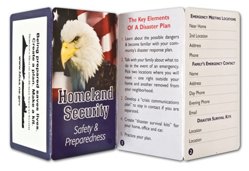 Key Points - Homeland Security: Safety and Preparedness