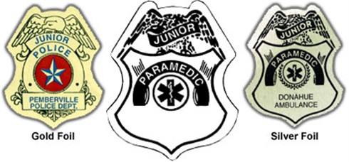 Paramedic Badge Sticker
