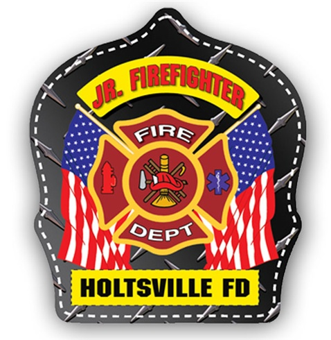 Plastic New Fire Helmets / Hats - Custom Shields Design