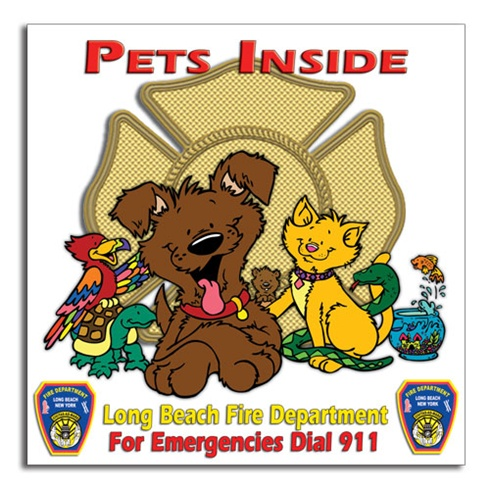 Pets Inside - Full Color - Custom