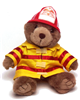 Fireman Kirby Bear Plush Toy
