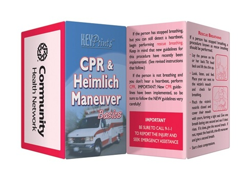 Key Points - CPR and Heimlich Maneuver Basics