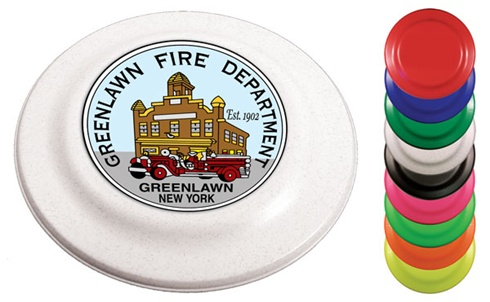 Frisbees - Fire Flyers - Full Color Imprint