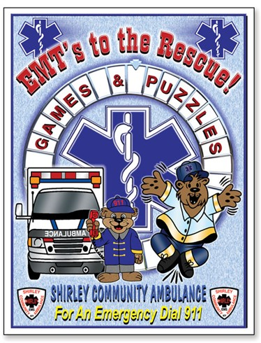 EMT'S to the Rescue Games & Puzzle Book