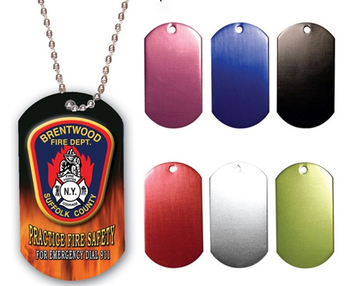 Dog Tags - Full Color