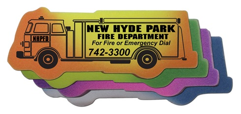Fire Truck Mood Eraser