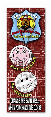 Bookmark - Smoke Alarms Save Lives...Test Yours Every Month!