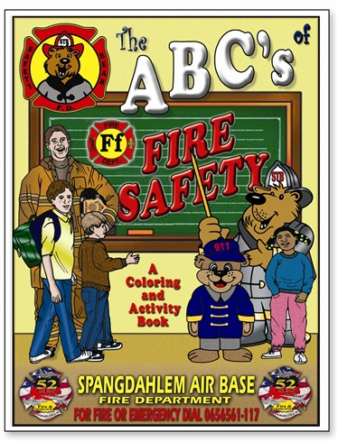 The ABC's of Fire Safety Coloring Book