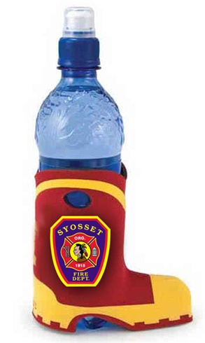 Bottle Suit - Firemans Boot - Full Color Imprint