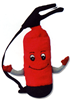 Fire Extinguisher Plush Toy