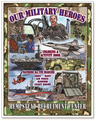 Our Military Heroes Coloring Book