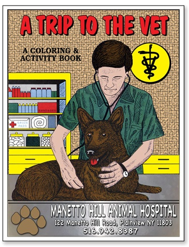 A Trip To The Vet Coloring Book