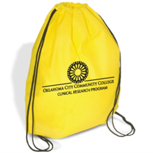 Econo Non-Woven String Backpack – One Color Imprint