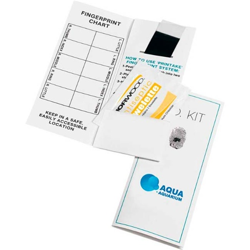 Child Fingerprint I.D. Kit
