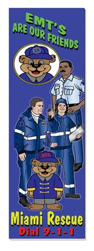 Bookmark - EMT's Are Our Friends!