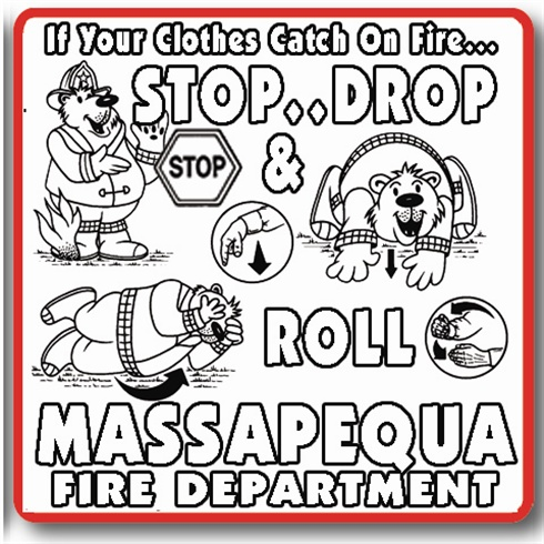 Color In T- Shirts - Fire Prevention Themes