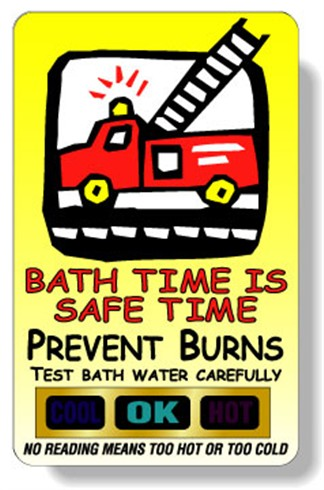 Bath Time Is A Safe Time - Bath Thermometer