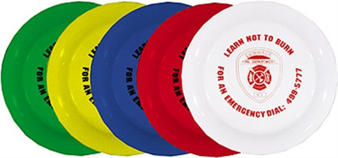Frisbees - Fire Flyers - One Color Imprint