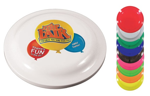 Frisbees - Value Fire Flyers - Full Color Imprint