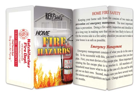 Key Points - Home Fire Hazards