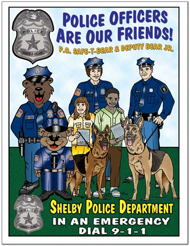 Police Officers Are Our Friends Coloring Book