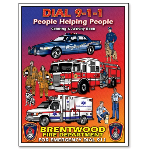 911- People Helping People! Coloring & Activity Book