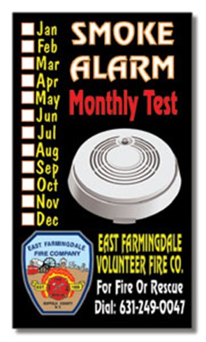 Smoke Alarm  Monthly Test Magnet