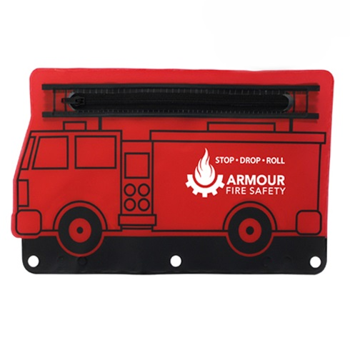 Fire Engine School Kit Pouch - Empty