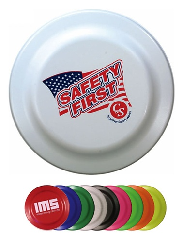 Frisbees - Value Fire Flyers - One Color Imprint