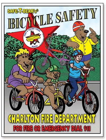 Safe-T-Bear's Bicycle Safety Coloring Book