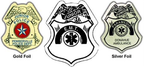 EMT Badge Sticker