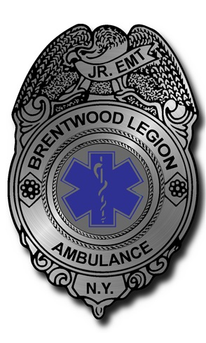 Stick-On Foil Badge - Junior EMT
