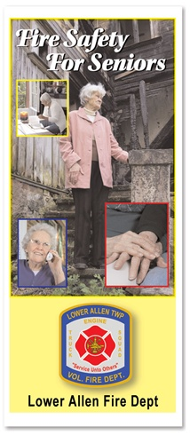 Fire Safety For Seniors Brochure